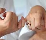 Marriage pinky promise