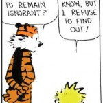 Ignorant Calvin and Hobbes