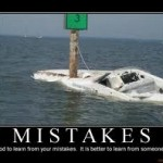 learn from someone else's mistakes demotivational poster