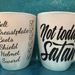 full armor of God coffee mugs